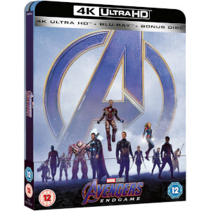 Avengers: Endgame - Zavvi UK Exclusive 4K Ultra HD Steelbook (Includes 2D Blu-ray)