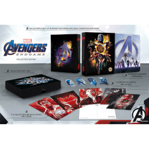 Avengers : Endgame 3D Zavvi Exklusives Steelbook Sammleredition (Inkl. 2D Blu-ray)