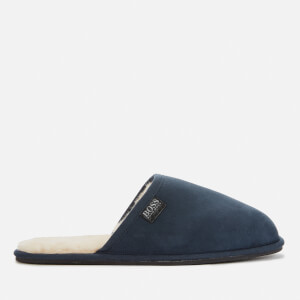BOSS Men's Home Mule Slippers - Navy