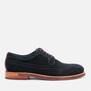 Ted Baker Men's Deelans Suede Brogues - Dark Blue