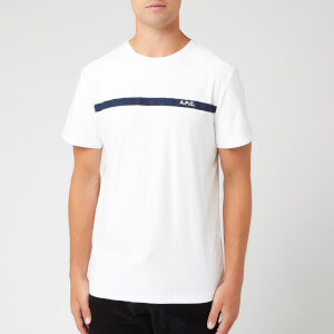 A.P.C. Men's Yukata Blanc T-Shirt - White/Dark Navy