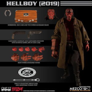 Figurine de collection articulée Hellboy (2019), échelle 1:12– Mezco