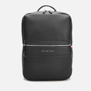 Tommy Hilfiger Men's Novelty Mix Backpack - Black