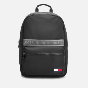Tommy Hilfiger Men's Sport Mix Backpack - Black