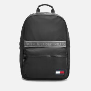 Tommy Hilfiger Men's Sport Mix Backpack - Black