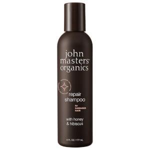 John Masters Organics Shampoo for Damaged Hair with Honey & Hibiscus 177ml