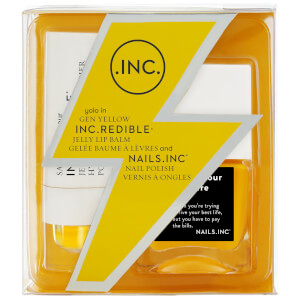 nails inc. Gen Yellow Nail Varnish Duo 2 x 14ml