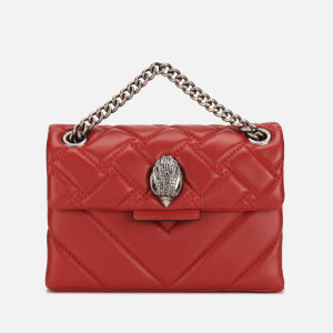 Kurt Geiger Women's Mini Kensington Cross Body Bag - Red