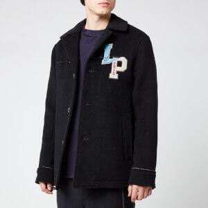 Lanvin Men's Pea Coat - Navy Blue