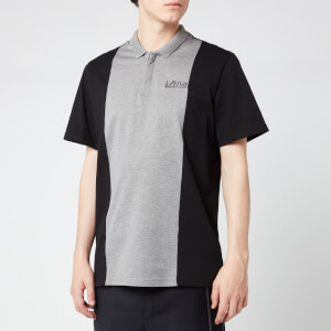Lanvin Men's Polo Shirt - Grey/Black