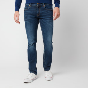 Tommy Hilfiger Men's Straight Denton Pstr Jeans - Port Blue