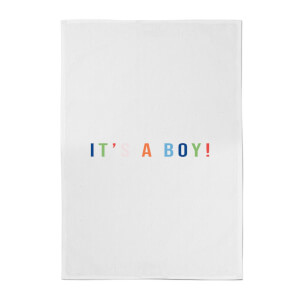 It's A Boy Cotton Tea Towel