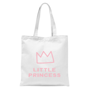 Little Princess Tote Bag - White
