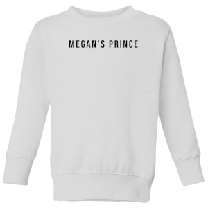 Megan's Prince Kids' Sweatshirt - White