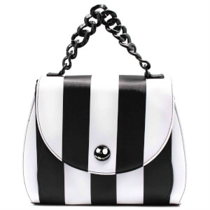 Loungefly Disney Nightmare Before Christmas Striped Crossbody Bag