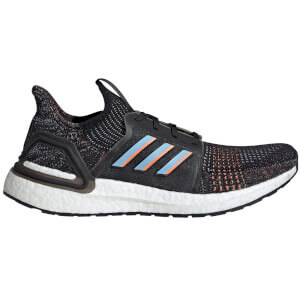 adidas Ultra Boost 19 Running Shoes - Black/Blue