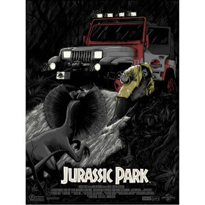 "Serigrafía Jurassic Park ""No Wonder You're Extinct"" - Exclusiva Zavvi"