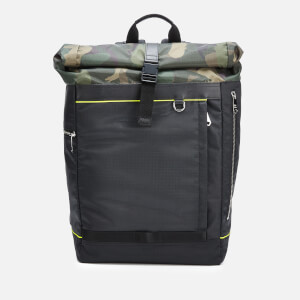 PS Paul Smith Men's Naked Lady Rolltop Backpack - Camo Green