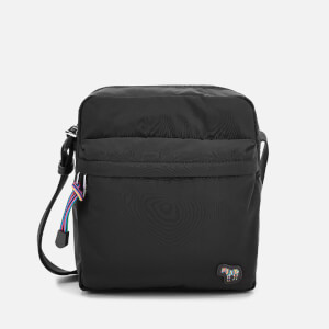 PS Paul Smith Men's Zebra Flight Bag - Black