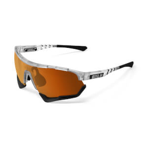 Scicon Aerotech Sunglasses SCN-XT Photochromic Bronze Mirror Lens - Frozen Matt Frame