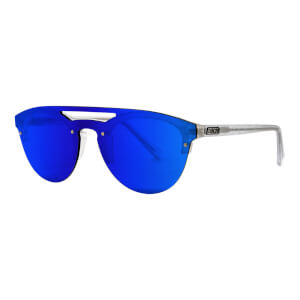Scicon Cover Sunglasses Blue Multimirror Lens - Frozen White Frame