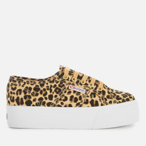 Superga Women's 2790 Fancotw Trainers - Classic Leopard