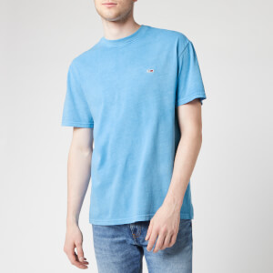 Tommy Jeans Men's Overwashed T-Shirt - Federal Blue
