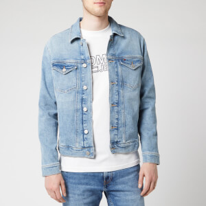 Tommy Jeans Men's Regular Trucker Jacket - Dallas Light Blue