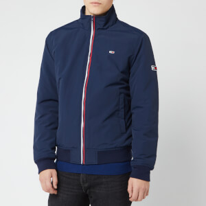 Tommy Jeans Men's Essential Padded Jacket - Black Iris