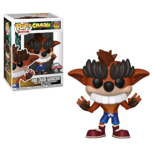 Figura Funko Pop! - Crash Bandicoot Dientes Falsos EXC - Crash Bandicoot