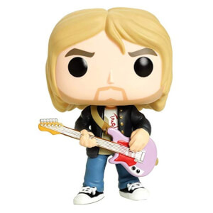 Pop! Rocks Kurt Cobain with Jacket EXC Funko Pop! Vinyl