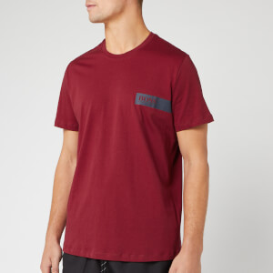 BOSS Men's Logo T-Shirt - Burgundy