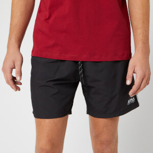 BOSS Men's Starfish Swim Shorts - Black