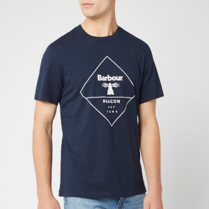 Barbour Beacon Men's Outline T-Shirt - Navy