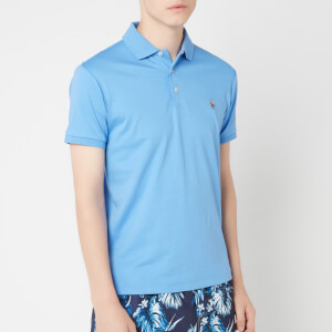 Polo Ralph Lauren Men's Pima Soft Touch Polo Shirt - Harbor Island Blue