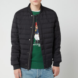 Polo Ralph Lauren Men's Lightweight Down Bomber Jacket - Polo Black