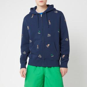 Polo Ralph Lauren Men's Multi Bear Zip Hoody - Newport Navy