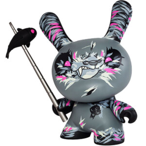 Kidrobot Shadow Friend 8 Inch Dunny Figurine