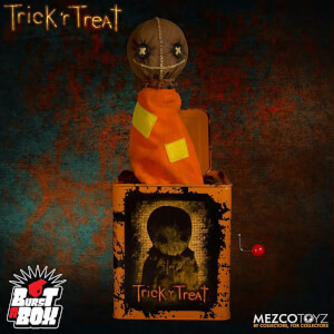 Mezco Trick 'r Treat Sam Burst-a-Box