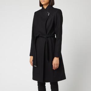 Ted Baker Women's Ellgenc Belted Wrap Coat - Black
