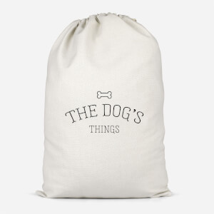 The Dog's Things Cotton Storage Bag