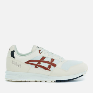 Asics Men's Lifestyle Gel-Saga Trainers - White/Brisket Red