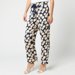 Diane von Furstenberg Women's Braelyn Trousers - New Navy
