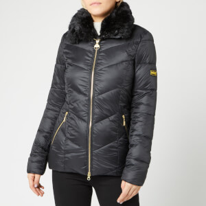 Barbour International Women's Nurburg Quilt Jacket - Black