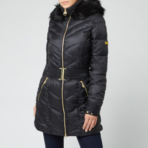 Barbour International Women's Highpoint Quilt Coat - Black