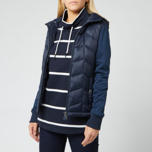 Barbour Women's Forecast Sweat Jacket - Navy/Navy
