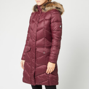 Barbour Women's Clam Quilt Coat - Bordeaux