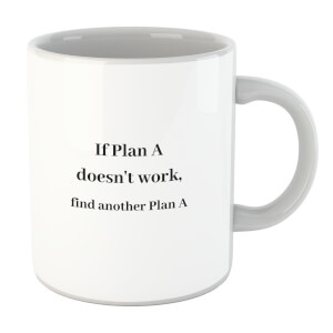 Lanre Retro If Plan A Doesn't Work, Find Another Plan A Mug