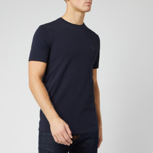 Armani Exchange Men's Tonal Small Logo T-Shirt - Navy