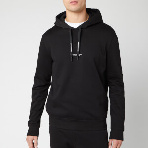 Armani Exchange Men's Small Logo Popover Hoodie - Black